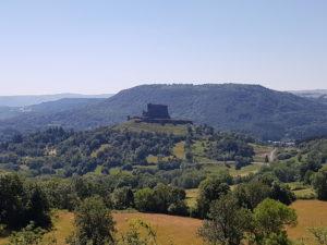 camping sunêlia-la ribeyre-chateau Murol