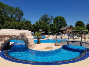camping sunêlia-la ribeyre-parc aquatique