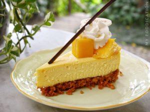 Thaïlande-Chiang Rai-Cheesecake mangue-Chivit Thamma Da