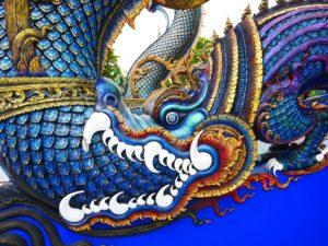 Thaïlande-Chiang Rai-Blue temple