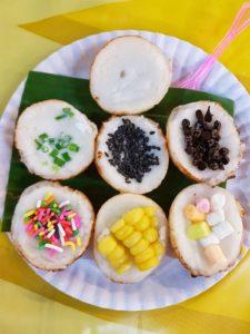 Thaïlande-Chiang Mai-Night market-cake coco