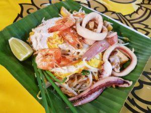 Thaïlande-Chiang Mai-Night market-padthai seafood