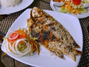 Thaïlande-poisson grillé