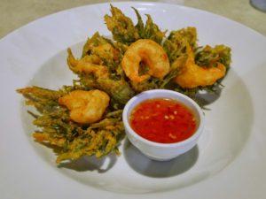 Thaïlande-tempura crevettes