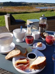 Ecolodge Instants d'Absolu-petit déjeuner