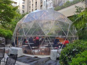 tea-time jardin privé Paris