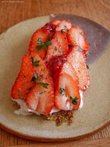 mokonuts tarte fraises