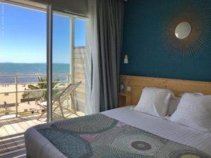 Hotel Miramar Grau du Roi Chambre double vue mer