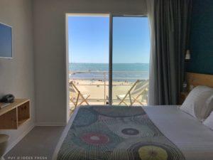 Hotel Miramar Chambre double vue mer