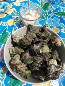 Aresquiers-escargots de mer