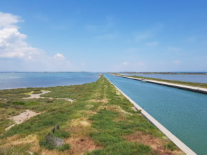 Les étangs et le canal