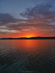 Frontignan sunset