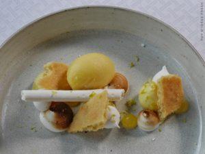 Tarte déstructurée aux différents citrons / Fraîcheur Calamensi