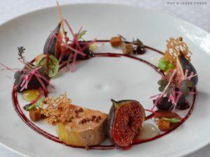 Foie Gras mi-cuit / Sarrasin torréfié / Figues / Betteraves / Cardamone