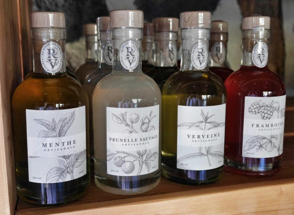 liqueurs reine des vertes made in Auvergne